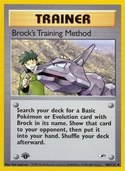 Brock's Training Method from Gym Heroes