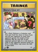 Blaine's Quiz #1 from Gym Heroes