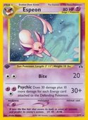 Espeon from Neo Discovery