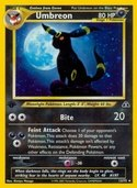 Umbreon from Neo Discovery