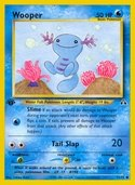 Wooper from Neo Discovery