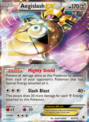 Aegislash-EX from Phantom Forces