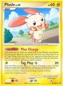 Plusle from Secret Wonders