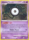 Unown S from Secret Wonders