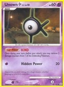 Unown K from Secret Wonders