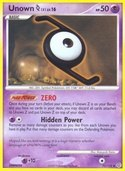 Unown Z from Secret Wonders