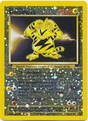 Electabuzz from Winner cards