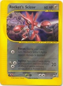 Rocket's Scizor from Winner cards